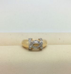 CARTIER Ring Diamanten 0.15ct 18kt Gold RW47